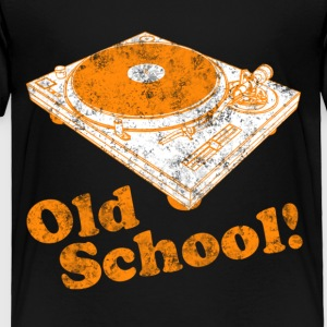 Turntable Old School Kids' Shirts - Toddler Premium T-Shirt