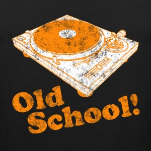 Turntable Old School Kids' Shirts - Men's Premium Tank