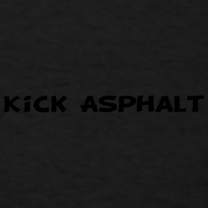 Kick Asphalt Caps - Men's T-Shirt