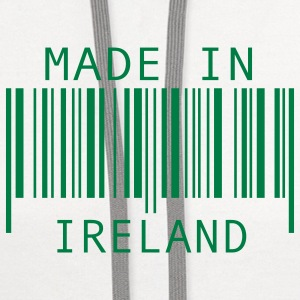 Made in Ireland Buttons - Contrast Hoodie