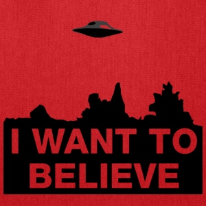 I WANT TO BELIEVE - Tote Bag