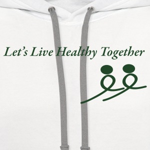 Healthy Together - Contrast Hoodie