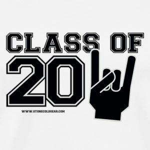 Class of 2011 silver and black Buttons - Men's Premium T-Shirt