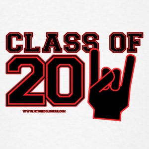class of 2011 Graduation black and red Buttons - Men's T-Shirt
