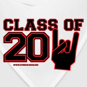 class of 2011 Graduation black and red Buttons - Bandana