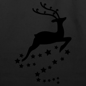 Reindeer Long Sleeve Shirts - Eco-Friendly Cotton Tote
