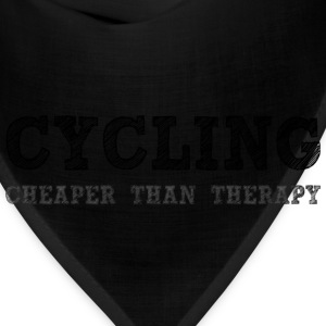Cycling Cheaper Than Therapy Hoodies - Bandana