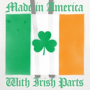 American With Irish Parts - Contrast Hoodie