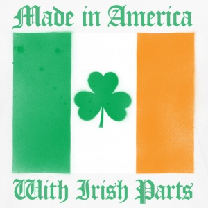 American With Irish Parts - Men's Premium Long Sleeve T-Shirt