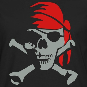 pirate_bones_022011_c_2c T-Shirts - Men's Premium Long Sleeve T-Shirt