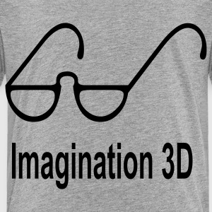 imagination_3d Sweatshirts - Toddler Premium T-Shirt