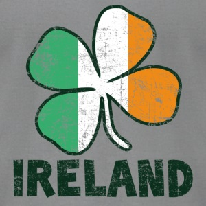 Ireland Long Sleeve Shirts - Men's T-Shirt by American Apparel