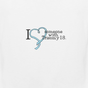 trisomy awareness names shirt Women's T-Shirts - Men's Premium Tank