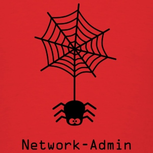 network admin administrator spider net www world wide web pc computer laptop Hoodies - Men's T-Shirt