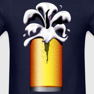 Beer Diver, beer drinker, larger lout - Men's T-Shirt