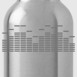 Equalizer Frequency DJ Sound Music Beat Pop Techno discjockey record Tanks - Water Bottle