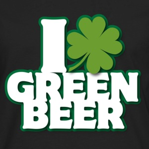 I * Green Beer T-Shirts - Men's Premium Long Sleeve T-Shirt