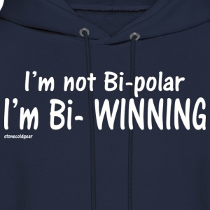 Sheen Isms bi winning T-Shirts - Men's Hoodie