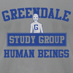 Greendale Study Group Long Sleeve Shirts - Men's T-Shirt by American Apparel