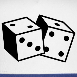 Gambling Dice (1c) Polo Shirts - Trucker Cap