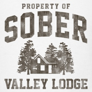 Sober Valley Lodge Tanks - Men's T-Shirt