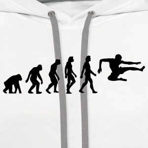 Evolution Karate (1c) Polo Shirts - Contrast Hoodie
