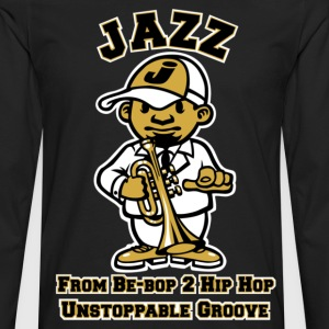 Tribute to jazz T-Shirts - Men's Premium Long Sleeve T-Shirt