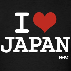 I love JAPAN Hoodies - Men's T-Shirt