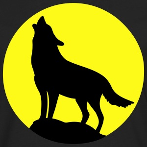 Howling Wolf Kids' Shirts - Men's Premium Long Sleeve T-Shirt