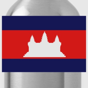 Flag of Cambodia T-Shirts - Water Bottle