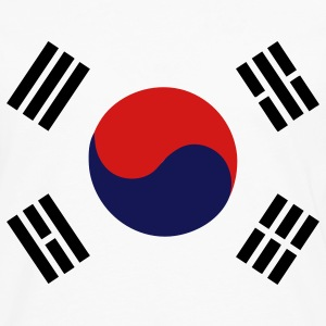 Flag of South Korea Women's T-Shirts - Men's Premium Long Sleeve T-Shirt