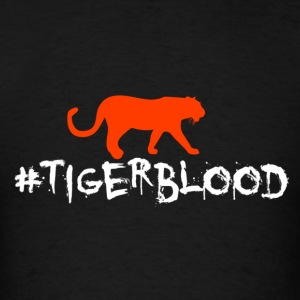 Tiger Blood Hoodies - Men's T-Shirt