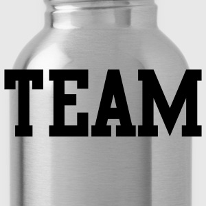 team in college font Kids' Shirts - Water Bottle
