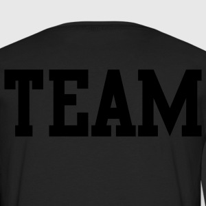 team in college font Kids' Shirts - Men's Premium Long Sleeve T-Shirt