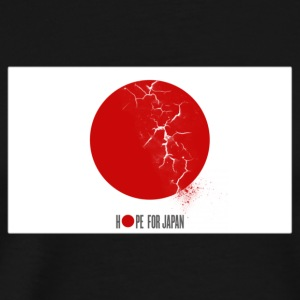 HOPE FOR JAPAN Hoodies - Men's Premium T-Shirt