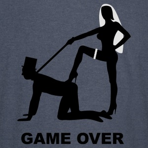 game over marriage matrimory wedlock fog haze double heiht heyday nuptials wedding zenith dominatrix lash whip slave bondman sex Hoodies - Vintage Sport T-Shirt