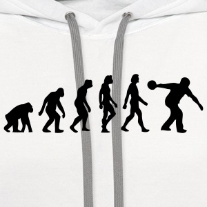 Evolution Bowling (1c) Polo Shirts - Contrast Hoodie