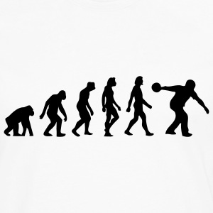 Evolution Bowling (1c) Polo Shirts - Men's Premium Long Sleeve T-Shirt