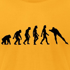 Evolution Skating (1c) Bags  - Men's T-Shirt by American Apparel