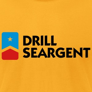 Drill Seargent (3c) Bags  - Men's T-Shirt by American Apparel