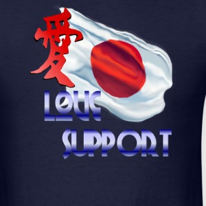 Love and Support-Japan - Men's T-Shirt