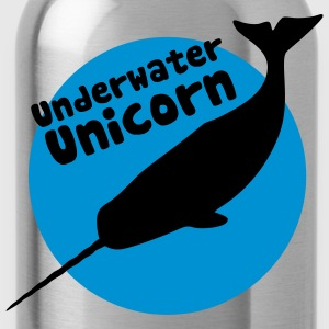 Underwater Unicorn Shirt - Water Bottle