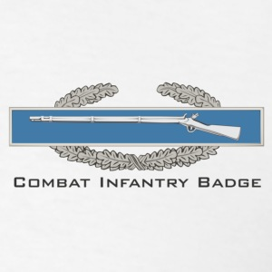 Combat Infantry Badge (CIB) - Men's T-Shirt