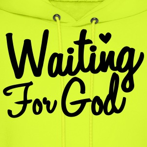 waiting for god T-Shirts - Men's Hoodie