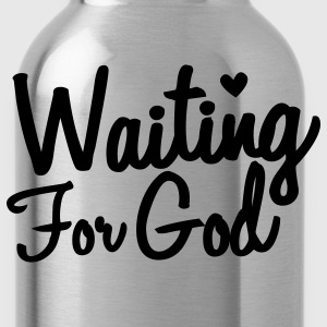 waiting for god T-Shirts - Water Bottle