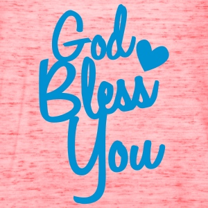 god bless you T-Shirts - Women's Flowy Tank Top by Bella