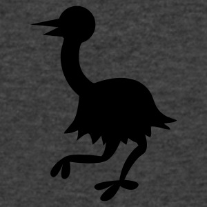 simple emu shape aussie Long Sleeve Shirts - Men's V-Neck T-Shirt by Canvas