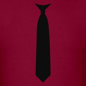 tie necktie Hoodies - Men's T-Shirt