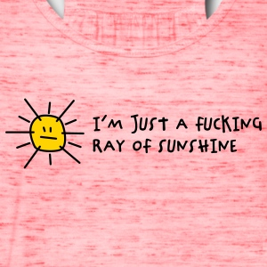 Fucking Ray Of Sunshine (2c) T-Shirts - Women's Flowy Tank Top by Bella