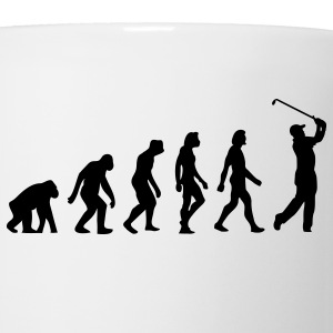 Evolution Golf (1c) T-Shirts - Coffee/Tea Mug